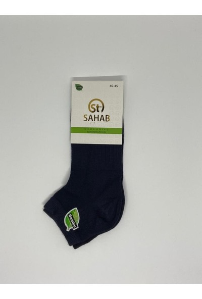 Sahab 8025 Erkek Bambu Topuk Çorap