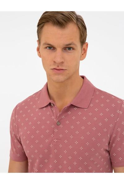 Pierre Cardin Gül Kurusu Slim Fit Polo Yaka T-Shirt 50242066-VR026