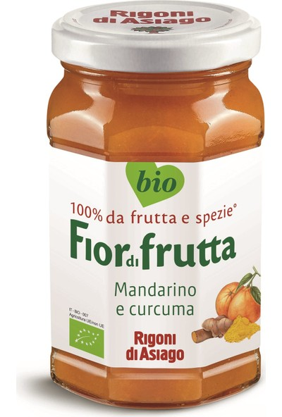 Fior Di Frutta Sürülebilir Meyve Zerdeçallı Mandalina 260 gr
