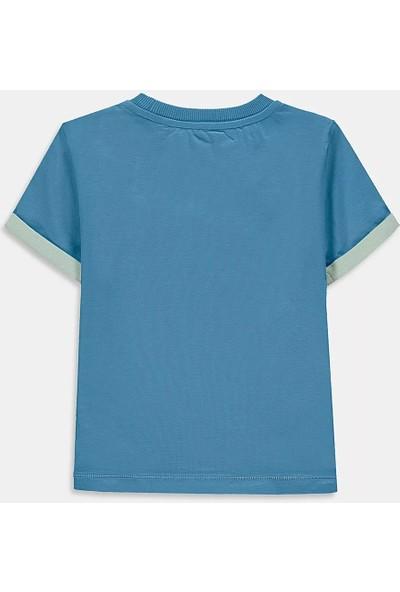 Arm Mavi Kaktüs Erkek Çocuk Tişört
