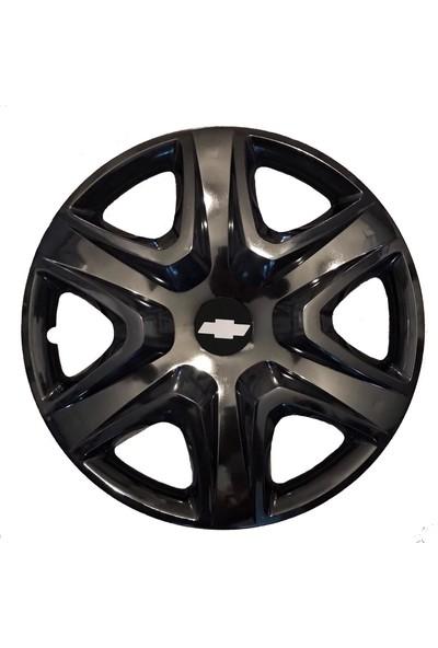 Chevrolet chevrolet Impala 15'' Inç Piano Black 4lü Set Jant Kapağı Çelik Jant Görünümlü