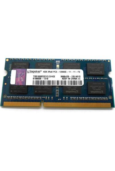 Kingston 4gb 2rx8 1600MHZ 1.5V Ddr3 Notebook Ram PC3-12800S-11-11-F3