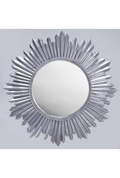 Selim Armanda Yuvarlak Ayna Gümüş