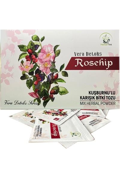 Vera Detoks Rosehip ( Kuşburnu ) Bitki Tozu Form Çayı
