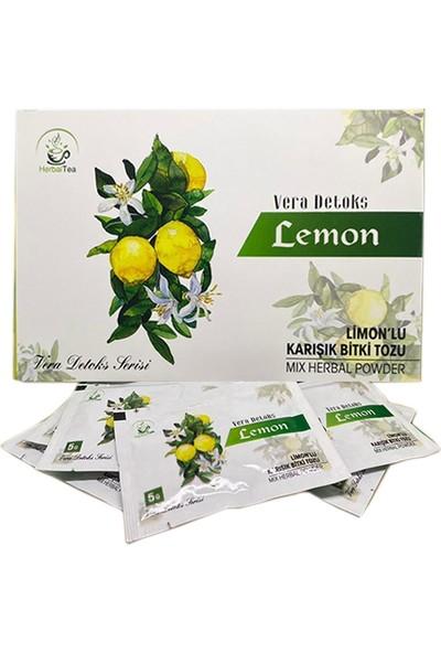 Vera Detoks Limonlu Bitki Tozu Form Çayı