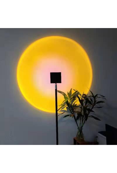 Fairy LED Sunset Projektör Ev Gece Lambası Zemin Lambası (Yurt Dışından)