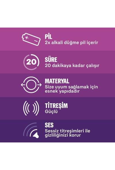 Durex Yok Ötesi Ultra Kaygan 20'li + Little Devil Titreşimli Halka