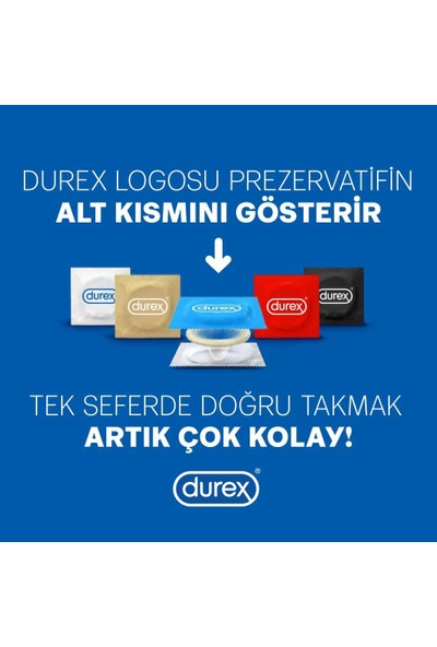 Durex Yok Ötesi Ekstra His ve Yakın Hisset Prezervatif 40'lı Ekonomik Paket