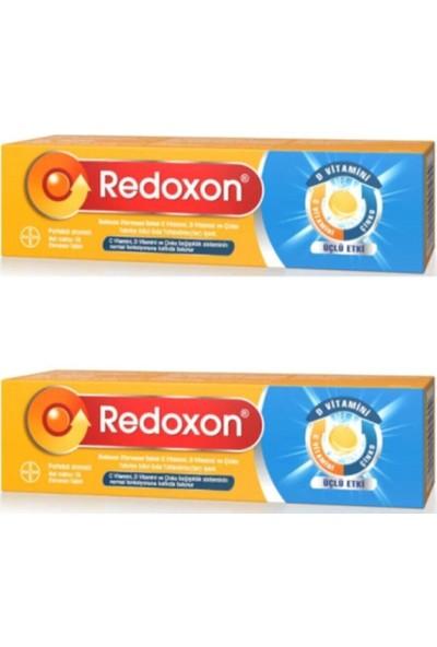 Redoxon Üçlü Etki C Vitamini D Vitamini Çinko Efervesan 15 Tablet - 2 Kutu