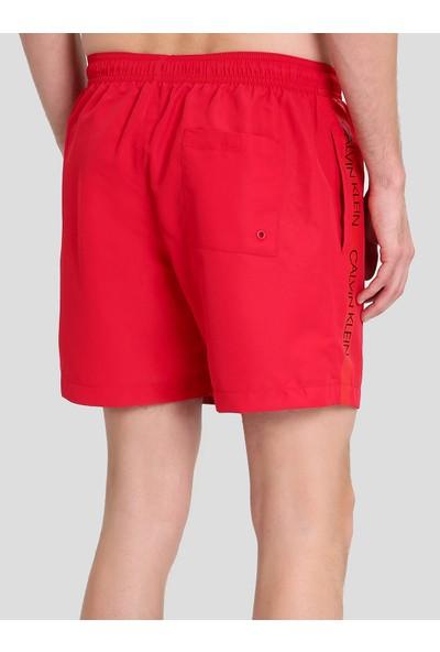 Calvin Klein KM0KM00294 Kırmızı Erkek Mayo Şort