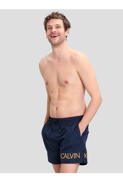 Calvin Klein KM0KM00303 Mavi Erkek Mayo Şort