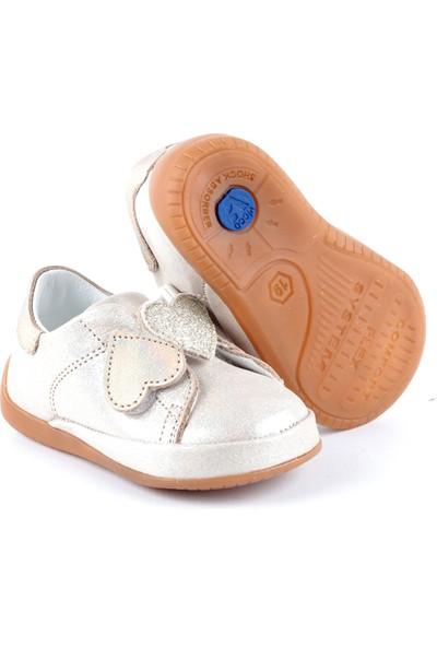 Vicco 918.003 Ilk Adım Deri Ayakkabı Altın