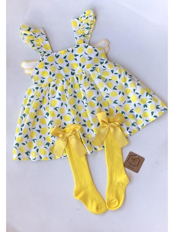 Melek Ada Butik Bebek Çoraplı Elbise