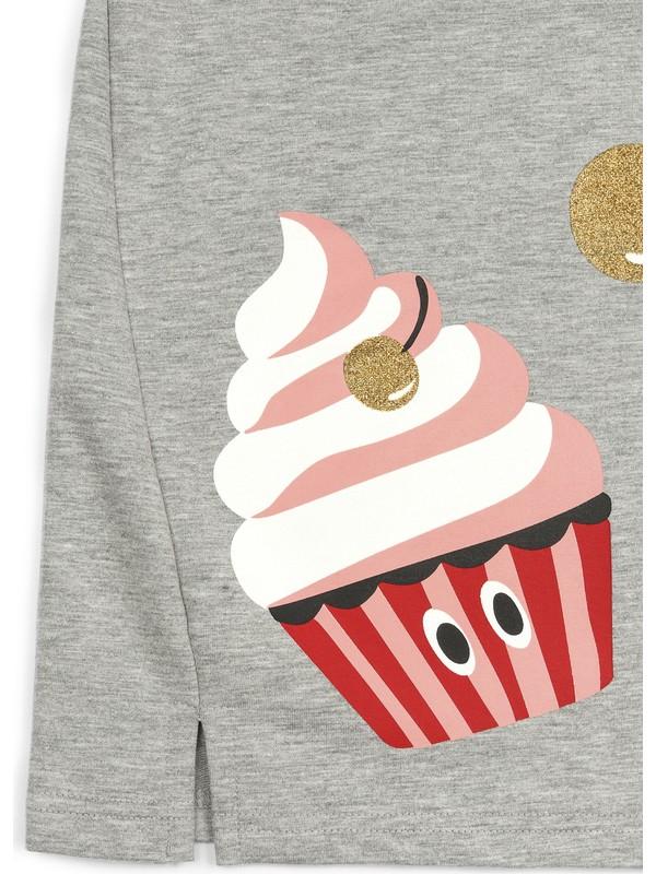Panço Kız Çocuk Örme Elbise 2111GK26018