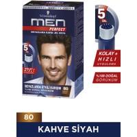 Schwarzkopf Men Perfect Jel Saç Boyası 80 Siyah Kahve