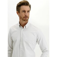 Kiğılı Uzun Kol Regular Fit Kareli Gömlek