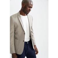 DeFacto Slim Fit Basic Blazer Ceket