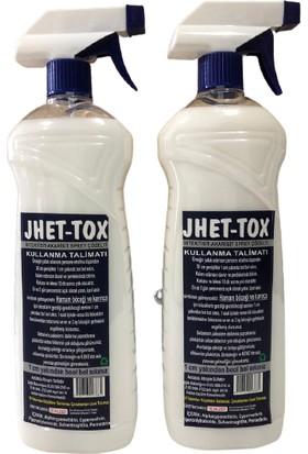 Jhet-Tox Gürbey Pazarlama Haşere Öldürme Spreyi-Böcek Öldürücü 2'li