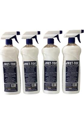 Jhet-Tox Gürbey Pazarlama Haşere Öldürme Spreyi-Böcek Öldürücü 4'lü