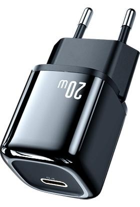 Mcdodo Ch-8291 20W Mini Pd Type-C Girişli Şarj Adaptörü-Siyah