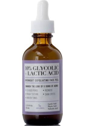 Medix 5.5 10% Glycolic + Lactic Acid Peeling Yüz Serumu 52 ml