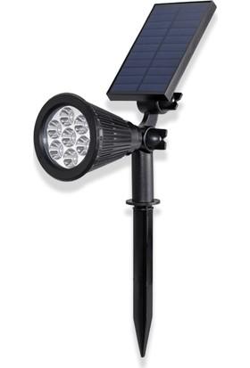 Akar 7 Watt LED Solar Bahçe Armatürü 3200K Gün Işığı