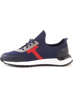 Mocassini Deri Bağcıklı Erkek Spor & Sneaker D2156T
