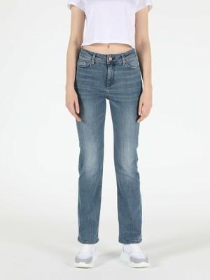 Colin's Regular Fit Düz Paça Yüksek Bel 792 Mila Kadın Jean Pantolon