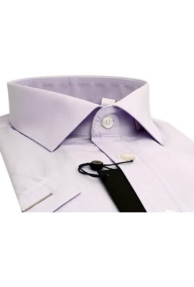 Kamer Kısa Kol Erkek Gömlek 8754C