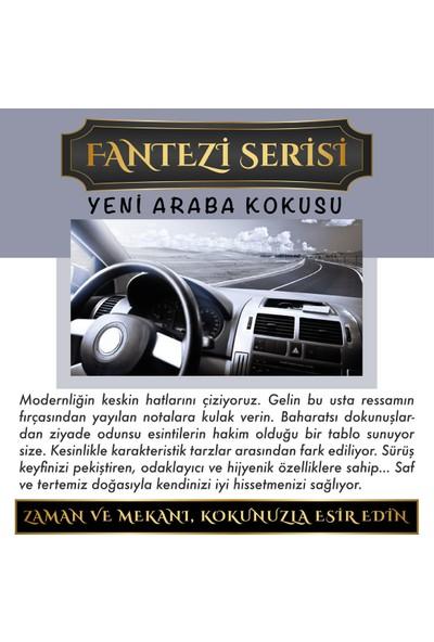 Aşk-ı Sermest Meczub Fantazi Serisi Yeni Araba Kokusu Kokulu 12 ml Elma Şişe Oto Kokusu