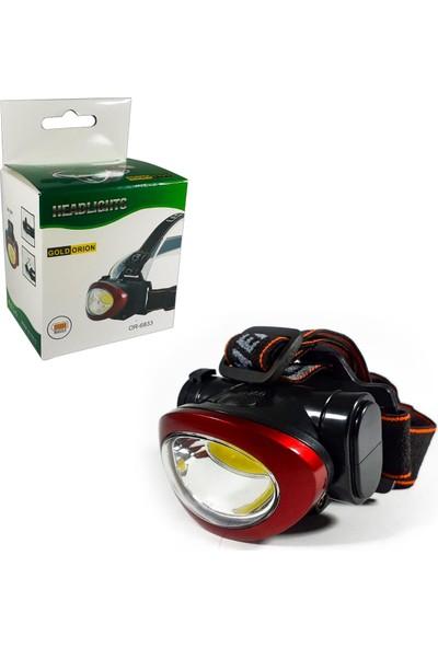 Silver Toss Kafa Feneri Lambası Pilli Power LED OR-6833