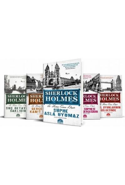 Sherlock Holmes Seti (5 Kitap Takım) -Suç Detayda Saklıdır - Akıl Oyunlarının Gölgesinde - Sir Arthur Conan Doyle