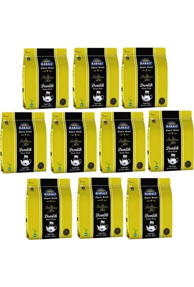 Karali Premium Demlik Poşet Siyah Çay 25 Li 10 Adet
