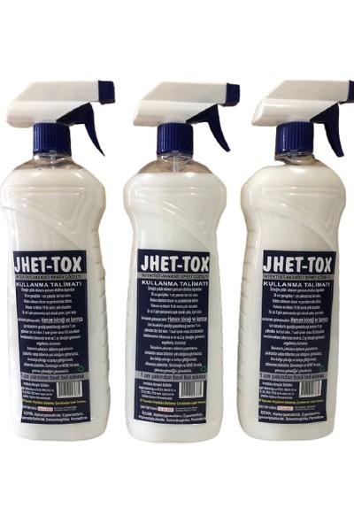 Jhet-Tox Gürbey Pazarlama Haşere Öldürme Spreyi-Böcek Öldürücü 3'lü