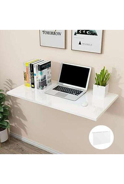 Filament Katlanabilir Duvar Çalışma Masası - Beyaz