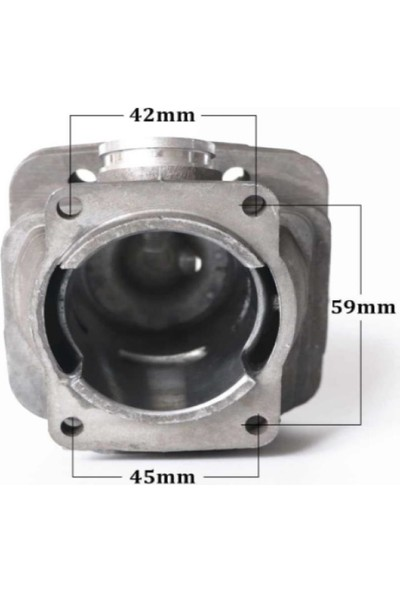 Tudix Wolfmac Stıhl Silindir Piston Komple Set Stıhl Ms 361 47MM