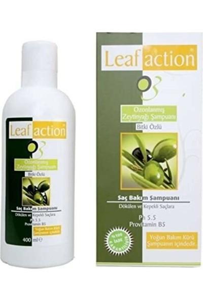 Leaf Action Bitki Özlü Ozonlanmış Zeytinyağı Şampuanı 400 ml