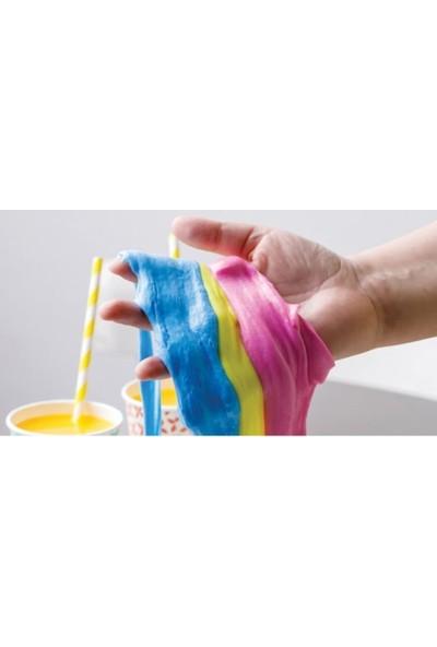 Easyso 6 Renk 1kg, Slime Oyun Jeli Kutulu Polymer Slime Hamuru