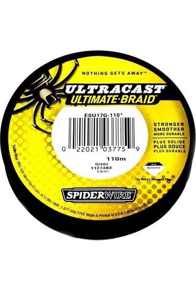 Spiderwire Ul.cast Ultimatebraid 17MM 110MT Misn.