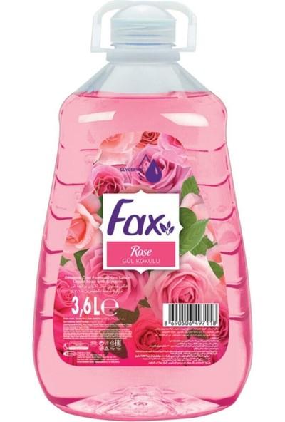 Fax Sıvı Sabun Gül 3.6 Lt x 4 Adet