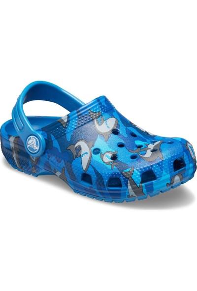 Crocs-Çocuk-Classic Shark Clog PS-206147
