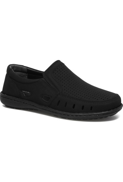Flexall Al-10 1fx Siyah Erkek Comfort Ayakkabı
