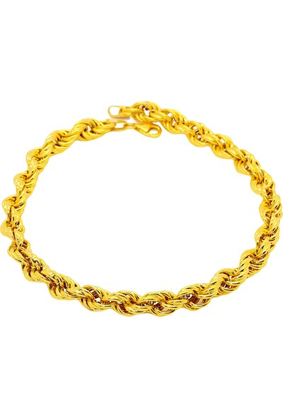 Cigold Cigold 14 Ayar Altın Taşsız Bileklik 26K2BLK0997025862