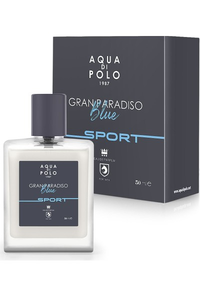 Aqua Di Polo 1987 Gran Paradiso Blue Sport Edp 50 ml Erkek Parfüm