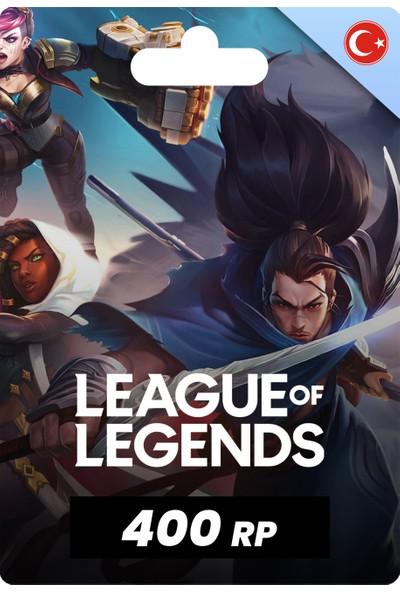 League Of Legends [ Lol ] 400 Rp [ 400 Riot Points ]