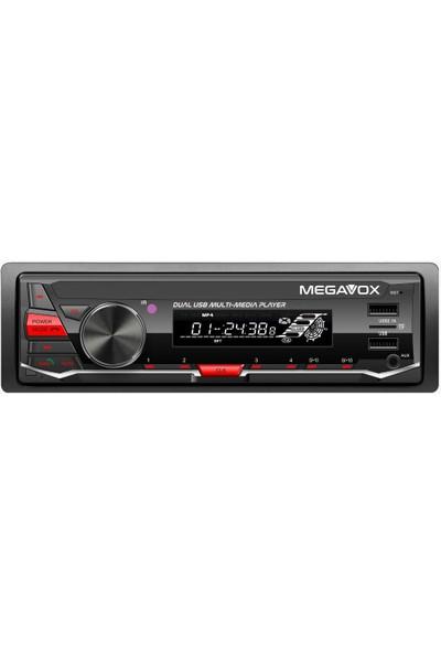 Megavox Oto Teyp Bluetooth/ Usb/ Sd/ Aux 4X60WATT
