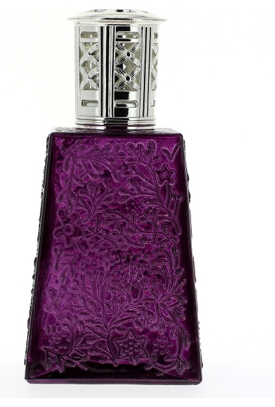 Wuw Dark Purple Dekoratif Vazo
