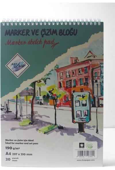 Art Liva A4 Eskiz Defteri