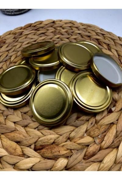 Multiamo Metal Gold Konserve Kavanoz Kapağı 63 mm 50 Adet