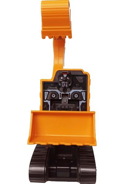 Popseker Robota Dönüşen Dozer Kepçe, Sürtmeli Robot Iş Makineleri